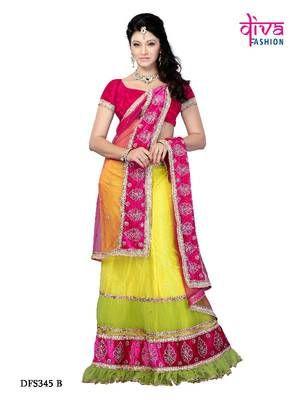 Wedding wear designer Lehenga Choli Diwali gifts Rs 5175