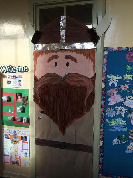 Viking Door classroom display photo - Photo gallery - SparkleBox
