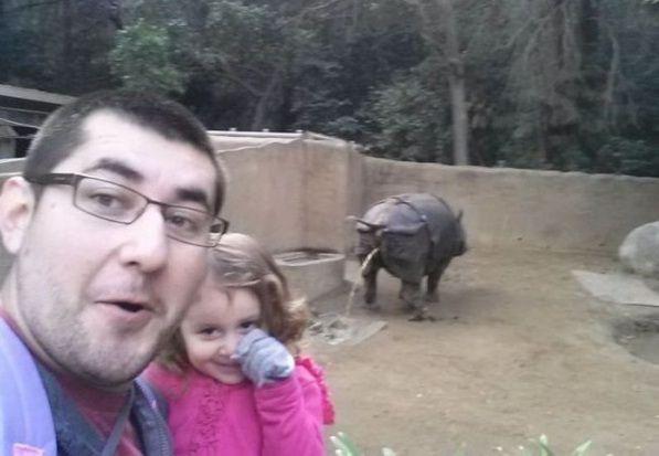 Rino selfie