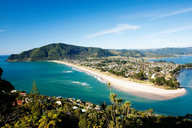 View from Paku Hill, Pauanui, Coromandel.