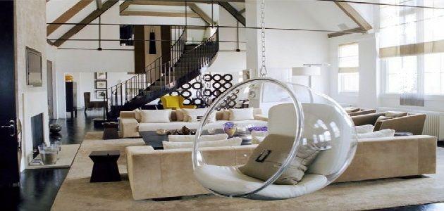 Hanging Chair Interior Design