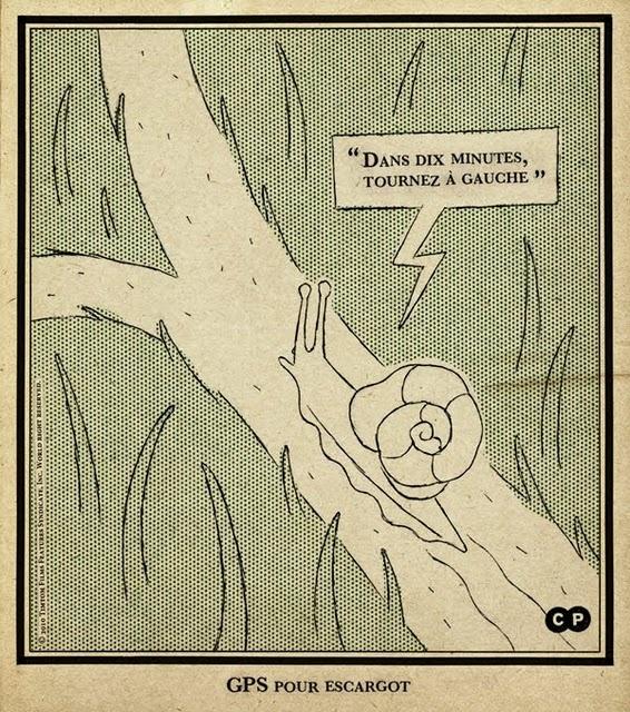 GPS pour escargot