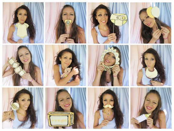 121 best photo booth props from the party event images on pinterest baby photo booth props in yellow 1599 solutioingenieria Choice Image