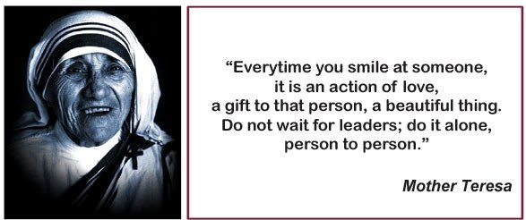 9 - Mother Teresa Quotes and Biography