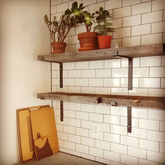Hand Hammered Shelf Brackets By KraftwerksNYC On Etsy
