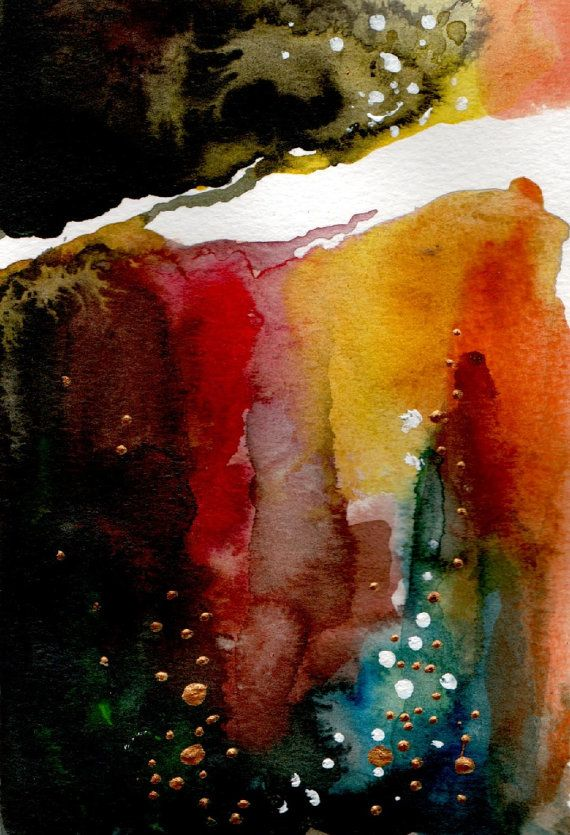 Abstract landscape by silaloba on Etsy, Ft4900.00