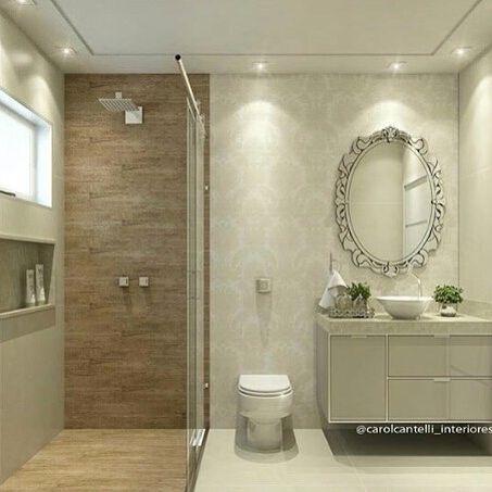 Banheiro com revestimento Ceusa