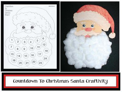 Counting Down To Christmas Craftivity #ClassroomFreebies