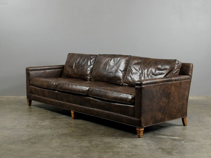 vintage leather sofa french furniture vintage leather sofas thesofa. Black Bedroom Furniture Sets. Home Design Ideas