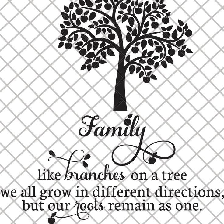 Family Tree SVG File by SVGCooP on Etsy Tree svg