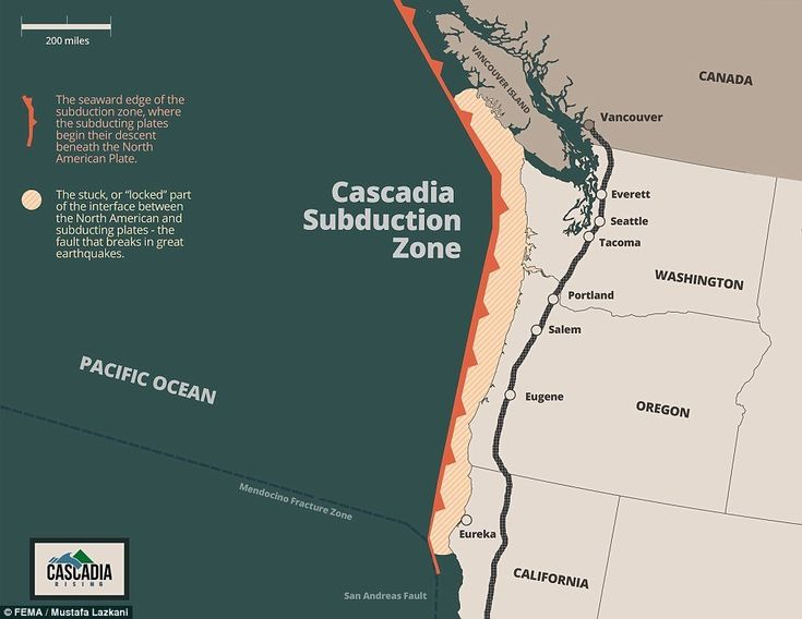 On June 7, FEMA will hold a massive drill to prepare for a 9.0 Cascadia Subduction Zone earthquake and tsunami -- Earth Changes -- Sott.net