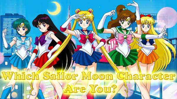 """Which """"Sailor Moon"""" Character Are You<<<OMG I GOT LUNA"""