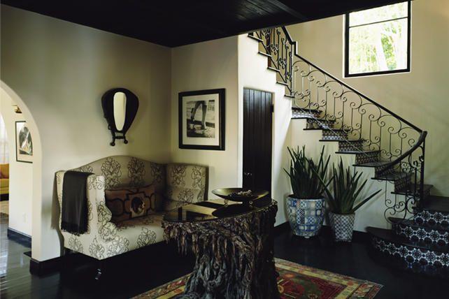 stairs.drama. dark floors.