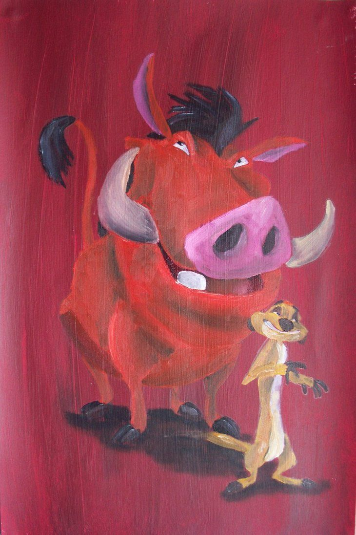 Day favorite duo timon and pumba why when he was a young wart hog when i was a young wart hoooooooooog very nice thanks
