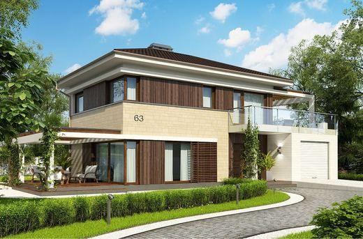 Projekt domu  Zx63 B