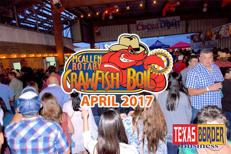 Mayor Darling mingles with a large crowd of Crawfish Boilers