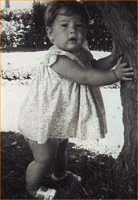 Prinses Máxima voor haar eerste verjaardag