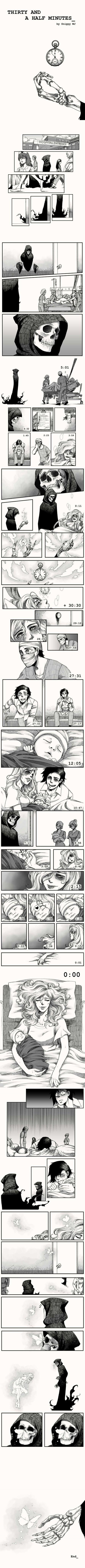 Thirty and a Half Minutes - Web Comic/Manga