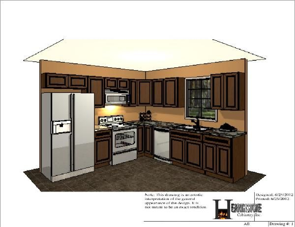 10X10 Kitchen Layout | Sample 10x10 Kitchen Design Part 95