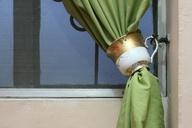 wikiHow to Use Teacups As Curtain Tiebacks -- via wikiHow.com