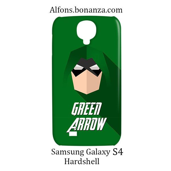 Green Arrow Superhero Samsung Galaxy S4 S IV Hardshell Case