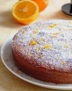 Gâteau très moelleux à l'orange