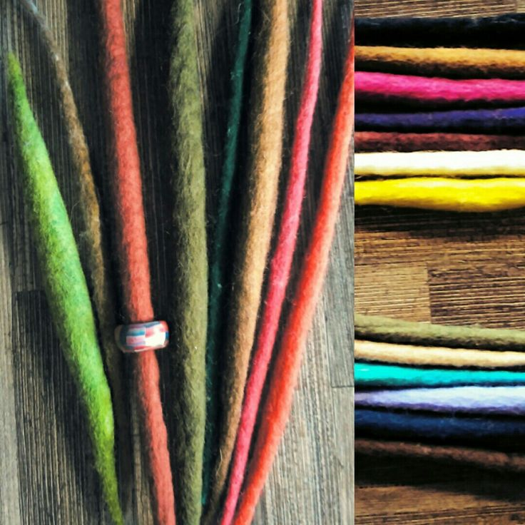 Wool dreads #dreadlocks #dreds