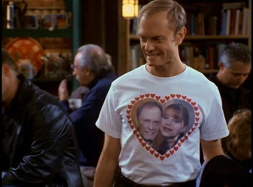 """Niles + Daphne forever <3333333333 