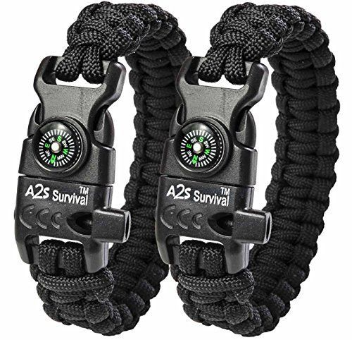 A2S Paracord Bracelet K2-Peak Collection - Survival Gear Package ... www.amazon.com/.......  Learn even more by clicking the image  Check more at  http://www.lifesurvival.org/rules-for-choosing-your-survival-camping-gear/