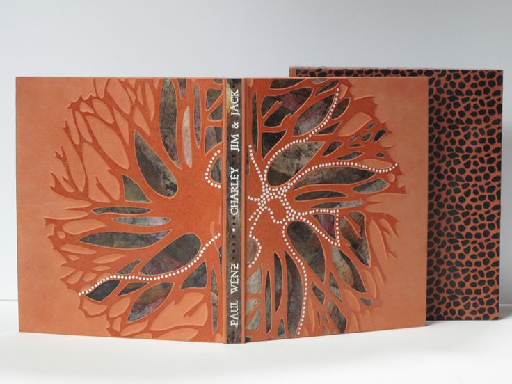 WENZ (Paul). Double Bush Binding. Illus. D. Pata. Sydney Ed. BEA Inc. 2005. Reliure 2006.  translate into bowl with stencil and dots
