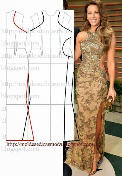 Moldes Moda por Medida: TRANSFORMAÇÃO DE VESTIDOS _91
