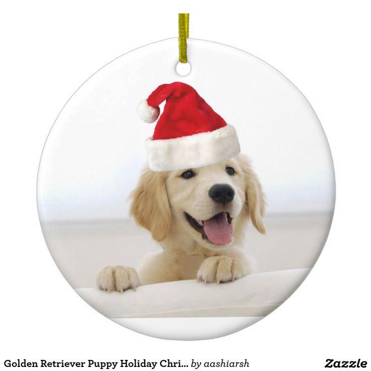 #GoldenRetriever #Puppy Holiday #Christmas #Ornament #Christmasdecoration #Christmas2016 #MerryChristmas #xmas