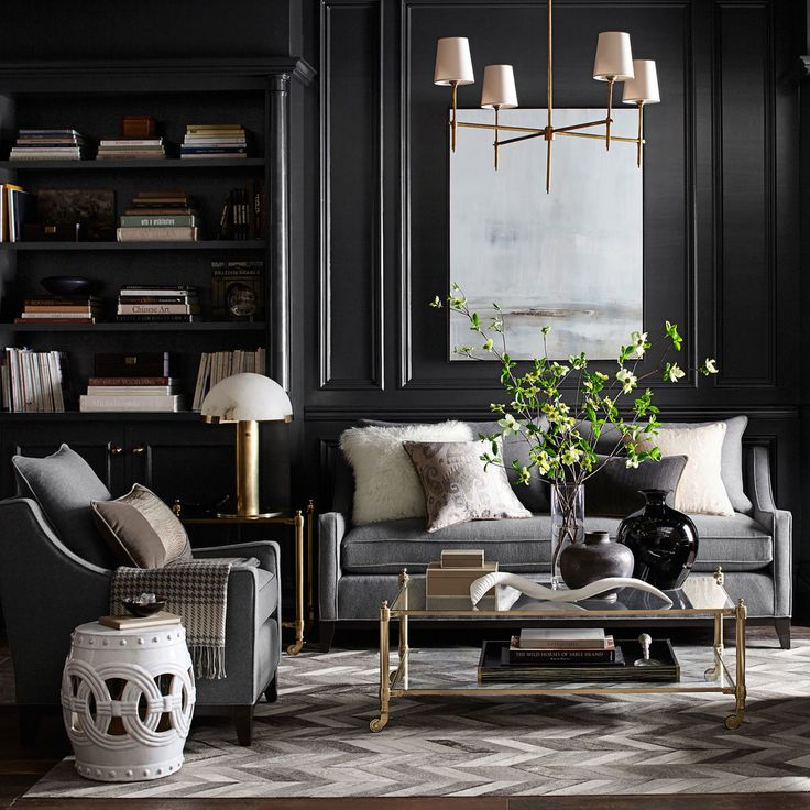Dark Grey Living Room 13073 best images about living room on pinterest | house tours