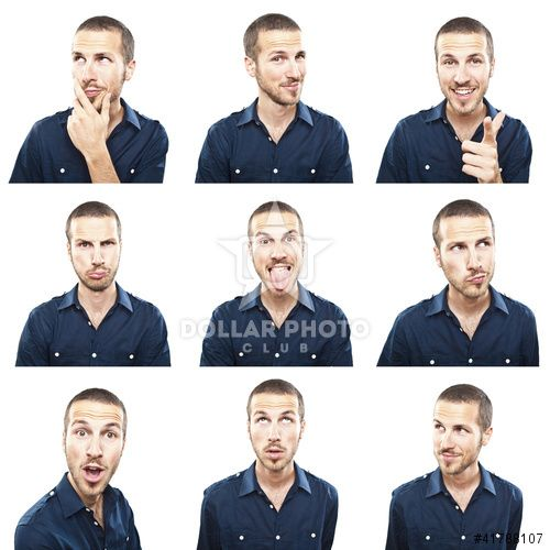 http://www.dollarphotoclub.com/stock-photo/young man face expressions composite isolated on white backgroun/41788107 Dollar Photo Club millions of stock images for $1 each