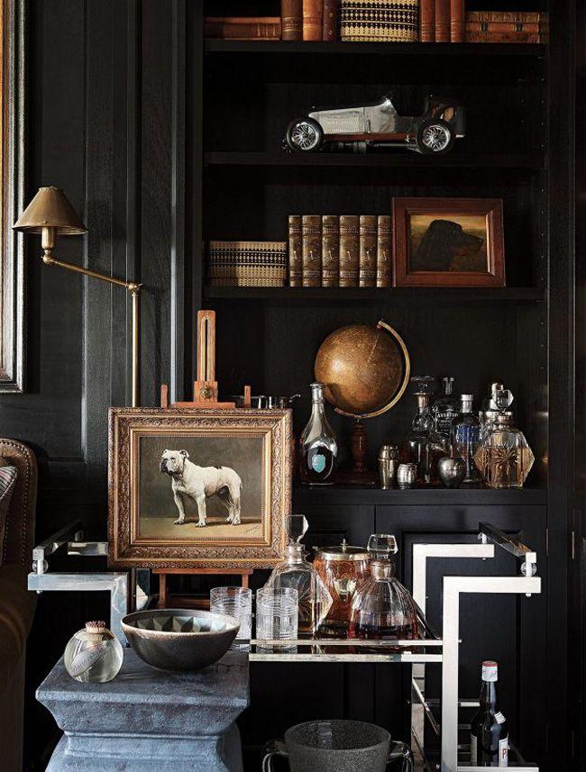 A Chelsea apartment designed as a gentleman'sclub - desire to inspire - desiretoinspire.net