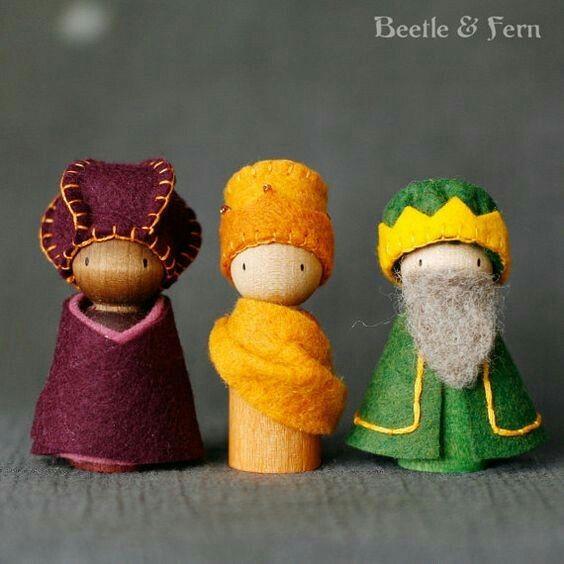THE THREE KINGS.....Reyes magos