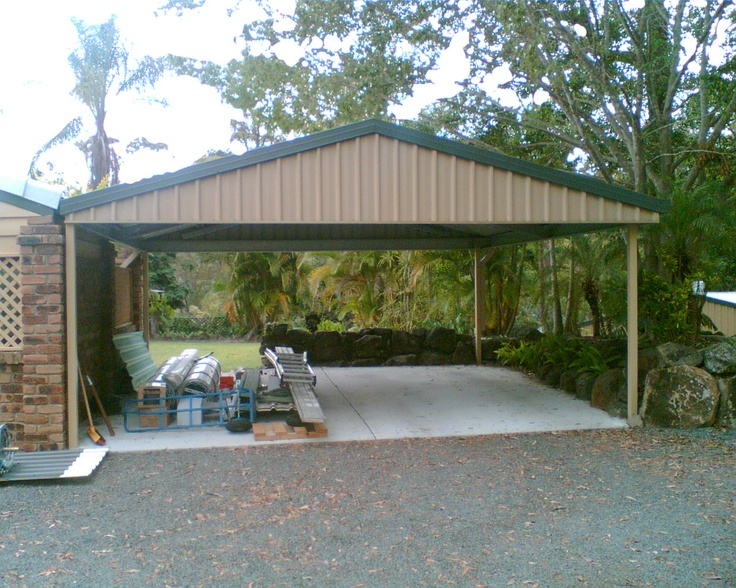 1000 images about carports on pinterest better homes for Carport fence ideas