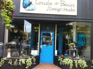 LOUSJE AND BEAN,  JAMES STREET BOUTIQUE,  ST CATHARINES,ON www.lousjeandbean.ca