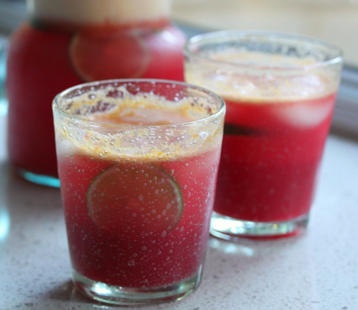Tamarillo Lemonade