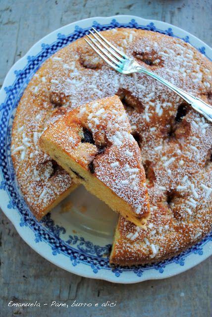 Pane, burro e alici: Torta morbida al formaggio con marmellata di cilie...