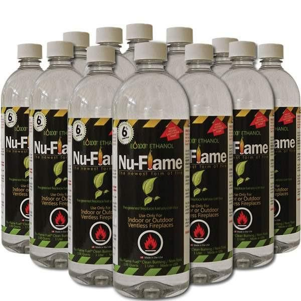 Nu-Flame Bio-Ethanol Fuel 1 Liter (Case of 12)