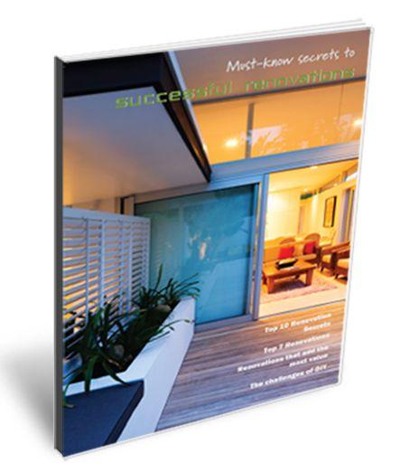 Secrets to successful renovations 2015 eBook lge