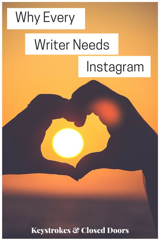 Everyone thinks that Twitter is the best platform. However, for the best communication and interaction with other writers you need instagram.