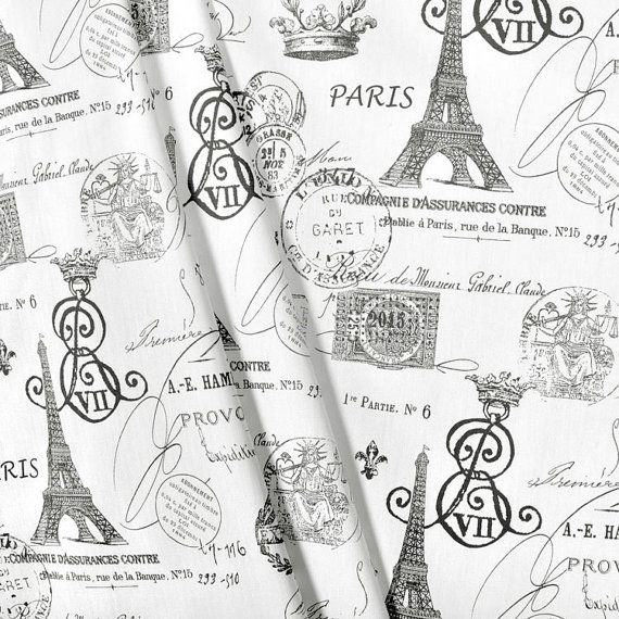 excellent french script fabric by the yard. Drapery Fabric  Upholstery Paris EiffelTower Charcoal Grey Black FrenchScript Document By The Yard 9 best Script images on Pinterest French script