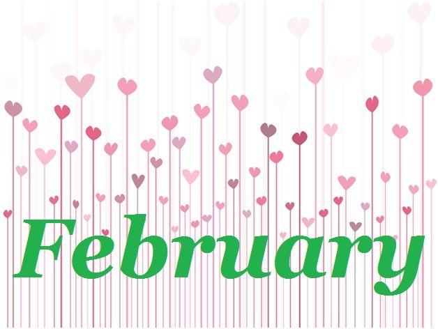 February Calendar of Events