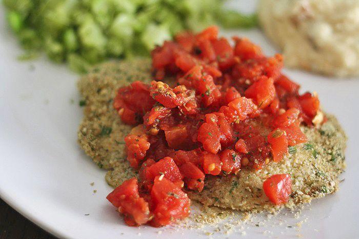 Recipe:+Skinny+Herb+Crusted+Tilapia