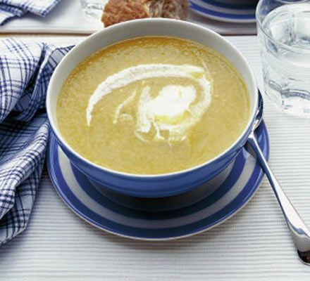 Boxing Day soup. Use up your leftover Christmas Day vegetables in this comforting winter soup.