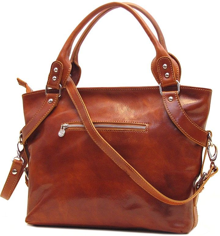 Italian Leather Handbags - Taormina in Olive Brown