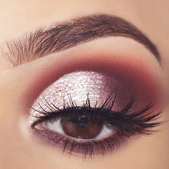 60 Ways of Applying Eyeshadow for Brown Eyes ★ Best Eyeshadows for Brown Eyes picture 4 ★ See more: http://glaminati.com/eyeshadow-for-brown-eyes/ #makeup #makeuplover #makeupjunkie