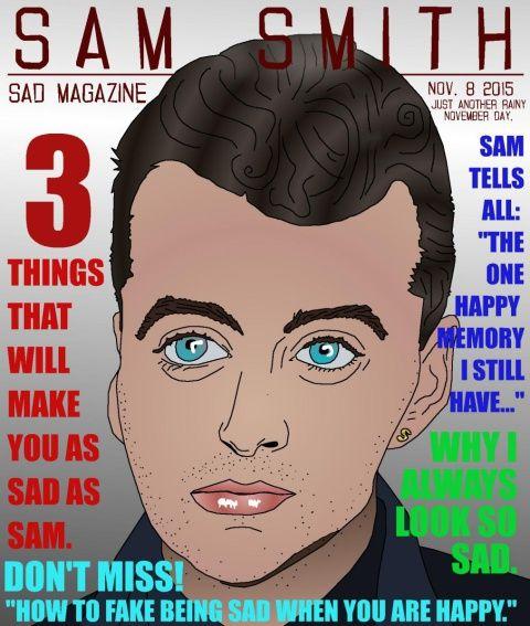 Sam Smith Caricature